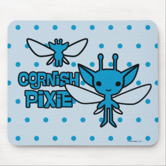 Cartoon Cornish Pixie Character Art Mouse Pad