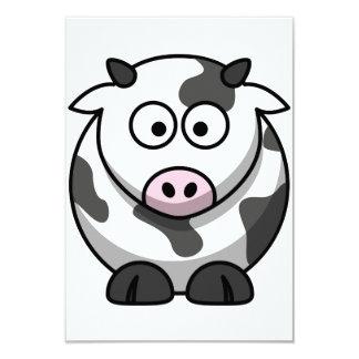 Cartoon Cow Invitations