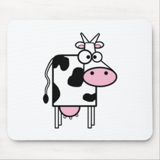 Cartoon Cow Mouse Pad