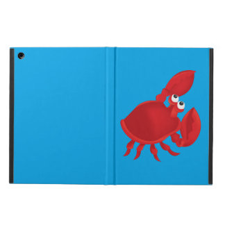 Cartoon crab case for iPad air