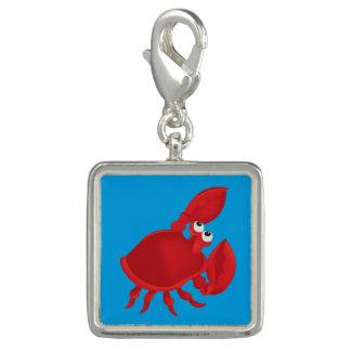 Cartoon crab charm