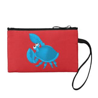 Cartoon crab coin wallet