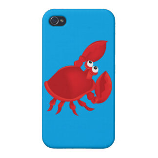 Cartoon crab cover for iPhone 4