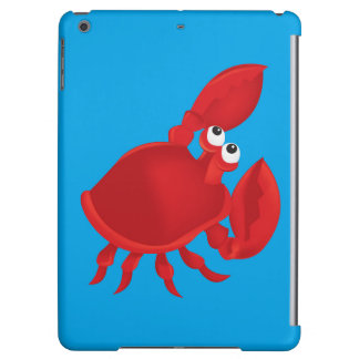 Cartoon crab iPad air case