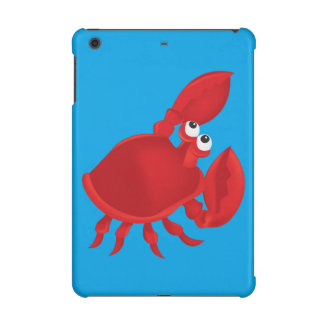 Cartoon crab iPad mini covers