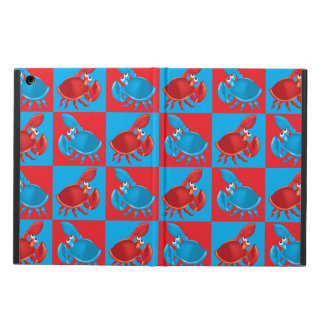 Cartoon crab mosaic cover for iPad air