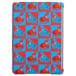 Cartoon crab mosaic iPad air case