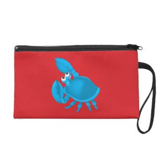 Cartoon crab wristlets