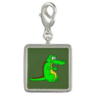 Cartoon croc charms