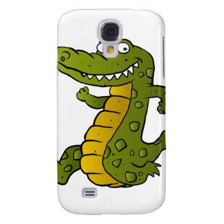 Cartoon crocodile.