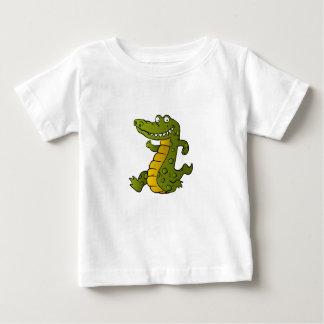Cartoon crocodile. baby T-Shirt