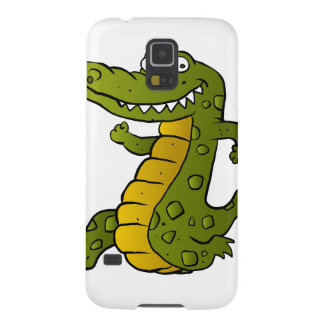 Cartoon crocodile. galaxy s5 cases