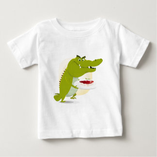 Cartoon Crocodile Set Baby T-Shirt