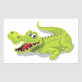 Cartoon Crocodile Sticker