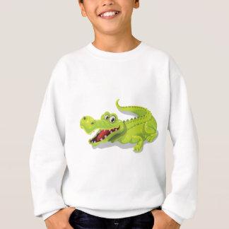 Cartoon Crocodile Sweatshirt
