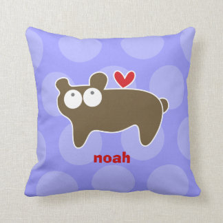 Cartoon Cute Bear Love Whimsical Kids Cushion Pillows