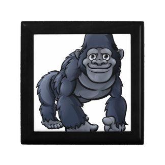 Cartoon Cute Gorilla Gift Box