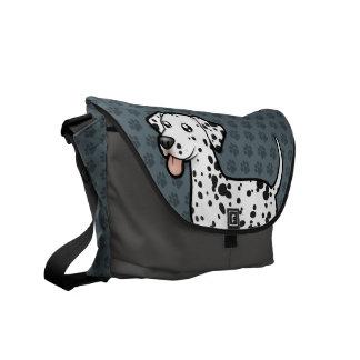 Cartoon Dalmatian Messenger Bag