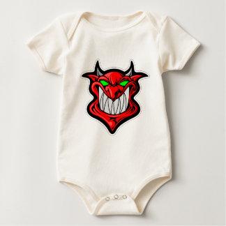 Cartoon Devil Baby Bodysuit
