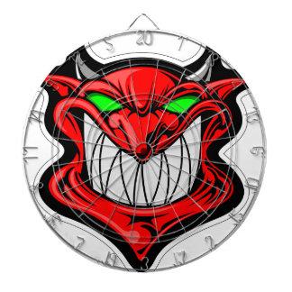Cartoon Devil Dartboard