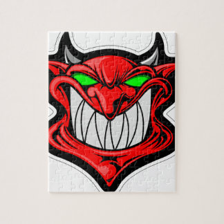 Cartoon Devil Jigsaw Puzzle