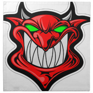 Cartoon Devil Napkin