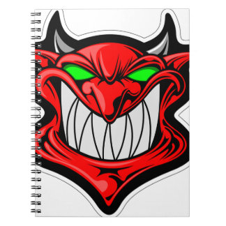 Cartoon Devil Notebook