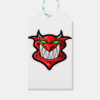 Cartoon Devil Pack Of Gift Tags