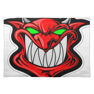 Cartoon Devil Placemat