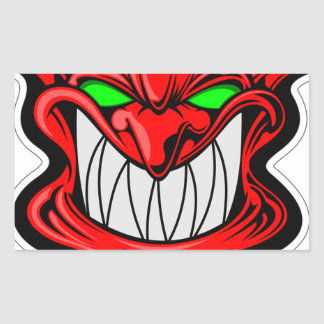 Cartoon Devil Sticker