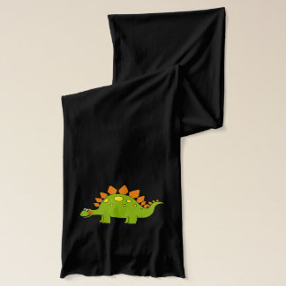 cartoon dinosaur stegosaurus scarf