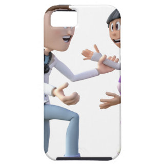 Cartoon Doctor and Patient iPhone 5 Covers