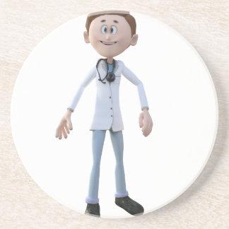 Cartoon Doctor Coasters