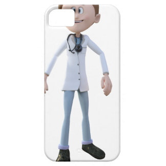 Cartoon Doctor iPhone 5 Cases