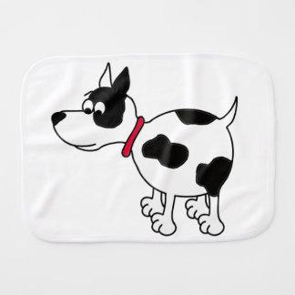 Cartoon Dog Burp Cloth