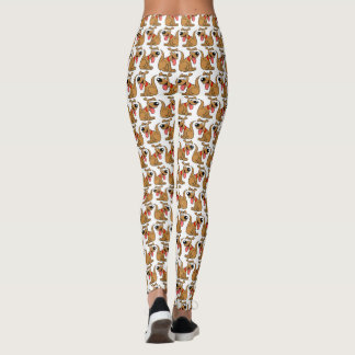 Cartoon Dog pattern Leggings