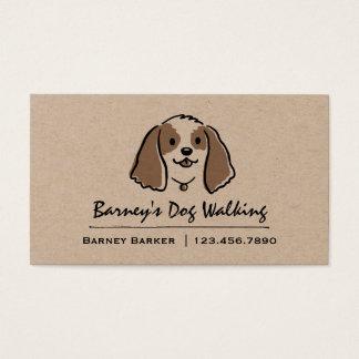 Cartoon Dog | Pet Sitter | Animal Care Business Card
