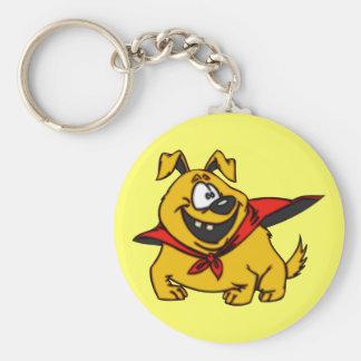 Cartoon Dog Super Hero Keychains