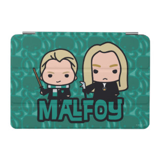 Cartoon Draco and Lucius Malfoy Character Art iPad Mini Cover