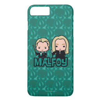 Cartoon Draco and Lucius Malfoy Character Art iPhone 8 Plus/7 Plus Case