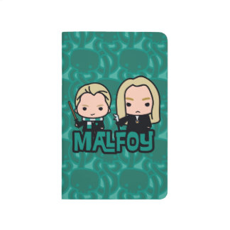 Cartoon Draco and Lucius Malfoy Character Art Journal