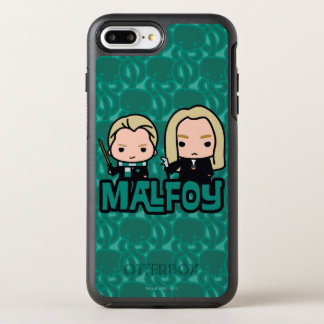Cartoon Draco and Lucius Malfoy Character Art OtterBox Symmetry iPhone 8 Plus/7 Plus Case