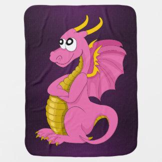 Cartoon dragon Baby Blanket