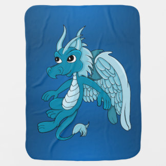 Cartoon dragon Baby Blanket