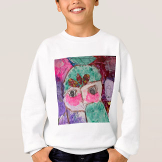 Cartoon drama face sweatshirt