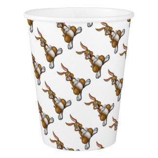 Cartoon Easter Bunny Rabbit Paper Cup
