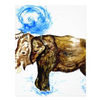 Cartoon Elephant2 Letterhead