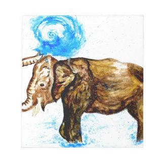 Cartoon Elephant2 Notepad