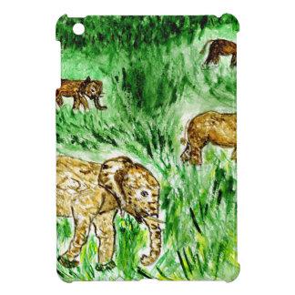 Cartoon Elephant3 iPad Mini Cases