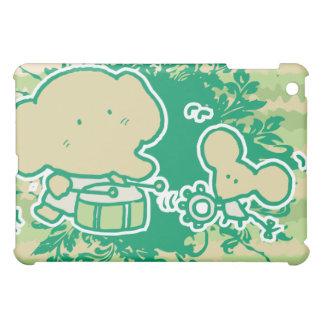 Cartoon Elephant and Mouse Band  iPad Mini Cover